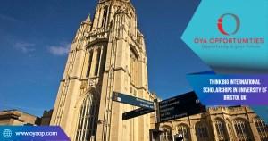 Think Big International Scholarships in University of Bristol UK