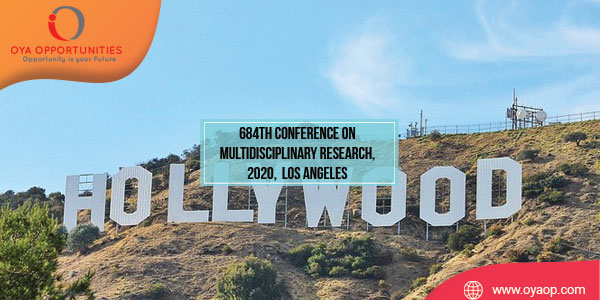 684th Conference on Multidisciplinary Research, 2020, Los Angeles