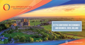 817th Conference on Economics and Business, 2020, Ireland