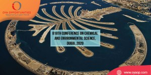 818th Conference on Chemical and Environmental Science, Dubai