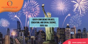 826th Conference on Arts, Education, and Social Science, 2020, USA