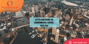 827th Conference on Environmental Science, 2020, USA