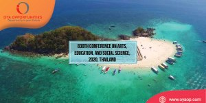 830th Conference on Arts, Education, and Social Science, 2020