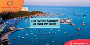 830th Conference on Economics and Finance, 2020, Thailand