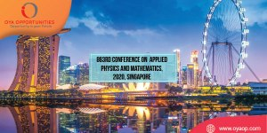 863rd Conference on Physics and Mathematics, 2020, Singapore