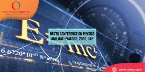 867th Conference on Physics and Mathematics, 2020, UAE