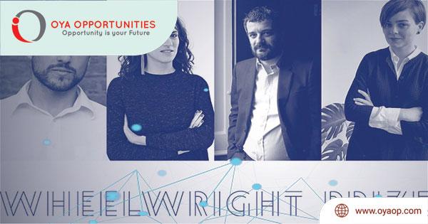 Harvard GSD Wheelwright Prize 2020 ($100,000)