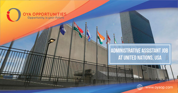 Administrative Assistant Job at United Nations, US