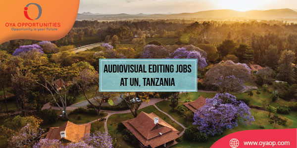 Audiovisual Editing Jobs at UN, Tanzania
