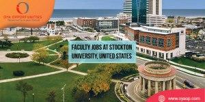 Faculty Jobs at Stockton University, United States
