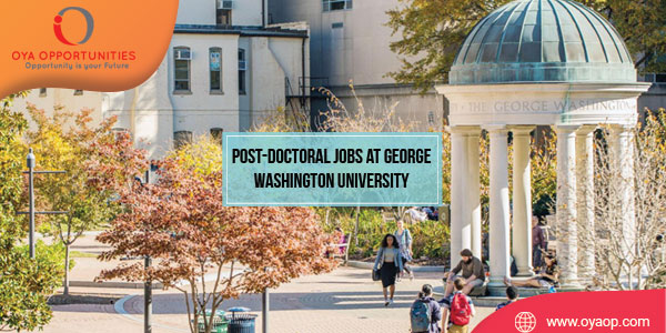 Post-Doctoral Jobs at George Washington University