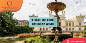 Research Jobs at Lund University, Sweden