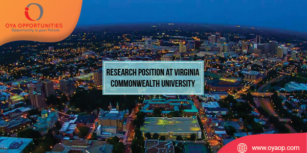 Research Position at Virginia Commonwealth University