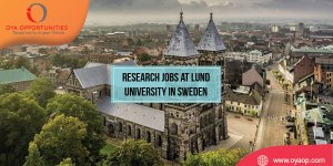 Research Vacancy at Lund University, Sweden