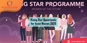 Rising Star Opportunity for Asian Women 2020