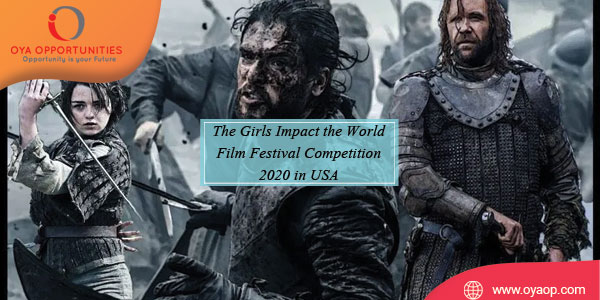 The Girls Impact the World Film Festival Competition 2020 in USA