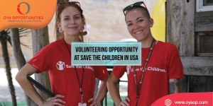 Volunteering Opportunity at Save the Children in United States