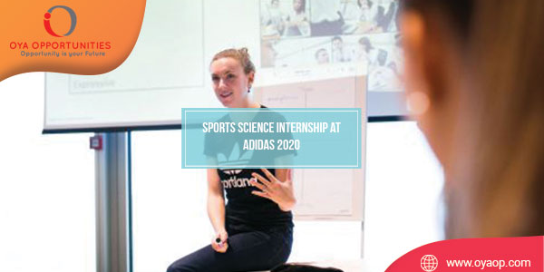Sports Science Internship at Adidas 2020