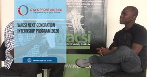 WACSI Next Generation Internship Program 2020