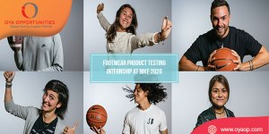 Footwear Product Testing Internship at Nike 2020
