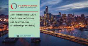 23rd International AIDS Conference in USA (Scholarships available)