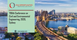 706th Conference on Civil and Environmental Engineering, 2020, Australia