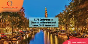 827th Conference on Chemical and Environmental Science, 2020