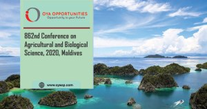 862nd Conference on Agricultural and Biological Science, 2020, Maldives