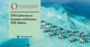 876th Conference on Economics and Business, 2020, Maldives