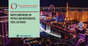880th Conference on Physics and Mathematics, 2020, Las Vegas