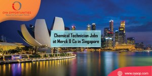 Chemical Technician Jobs at Merck & Co in Singapore