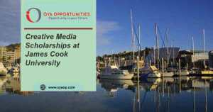Creative Media Scholarships at James Cook University