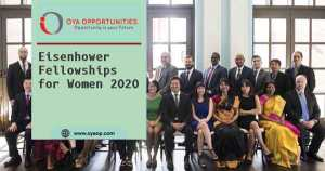 Eisenhower Fellowships for Women 2020