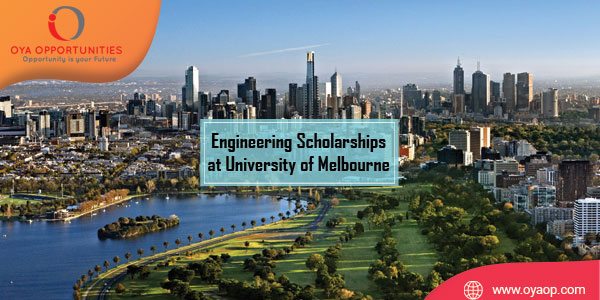 Engineering Scholarships at University of Melbourne (up to $20,000)