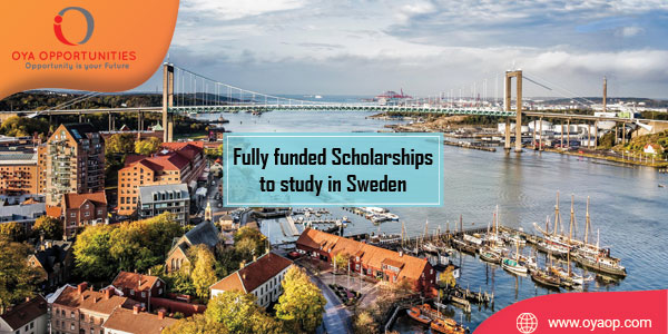 Full Scholarships at Chalmers University of Technology in Sweden