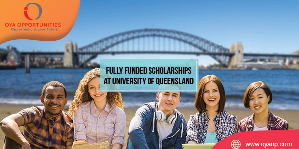 Fully Funded Graduate Scholarships at University of Queensland, Australia