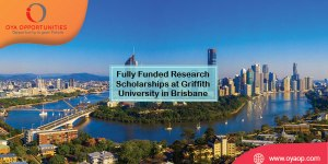 Fully Funded Research Scholarships at Griffith University in Brisbane
