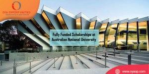 Fully Funded Scholarship at Australian National University