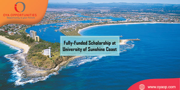 Fully-Funded Scholarship at University of Sunshine Coast