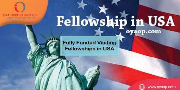 Fully Funded Visiting Fellowships for African students in USA