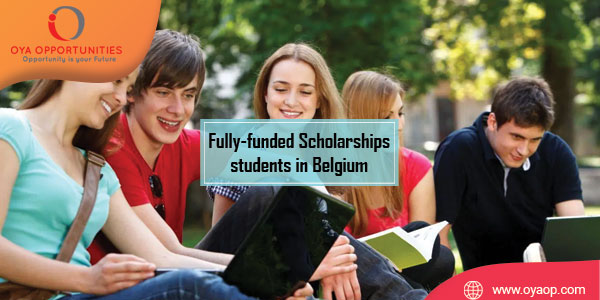 Fully-funded Scholarships for international students in Belgium