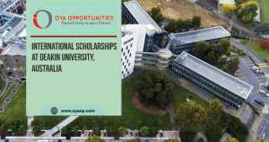 International Scholarships at Deakin University
