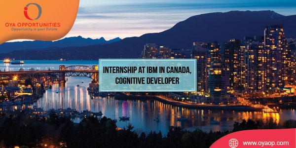 Internship at IBM in Canada, Cognitive Developer