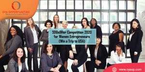 SDGs&Her Competition 2020 for Women Entrepreneurs (Win a Trip to USA)