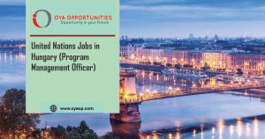 United Nations Job Vacancy in Hungary (Program Management Officer)