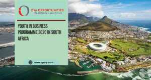 Youth in Business Programme 2020 in South Africa