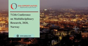 712th Conference on Multidisciplinary Research, 2020, Norway