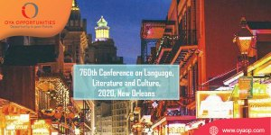 760th Conference on Language, Literature and Culture, USA