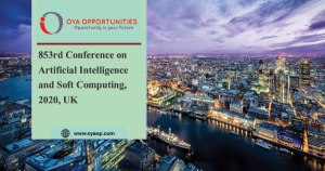 853rd Conference on Artificial Intelligence and Soft Computing, 2020, UK