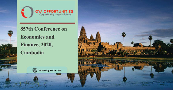 857th Conference on Economics and Finance, 2020, Cambodia